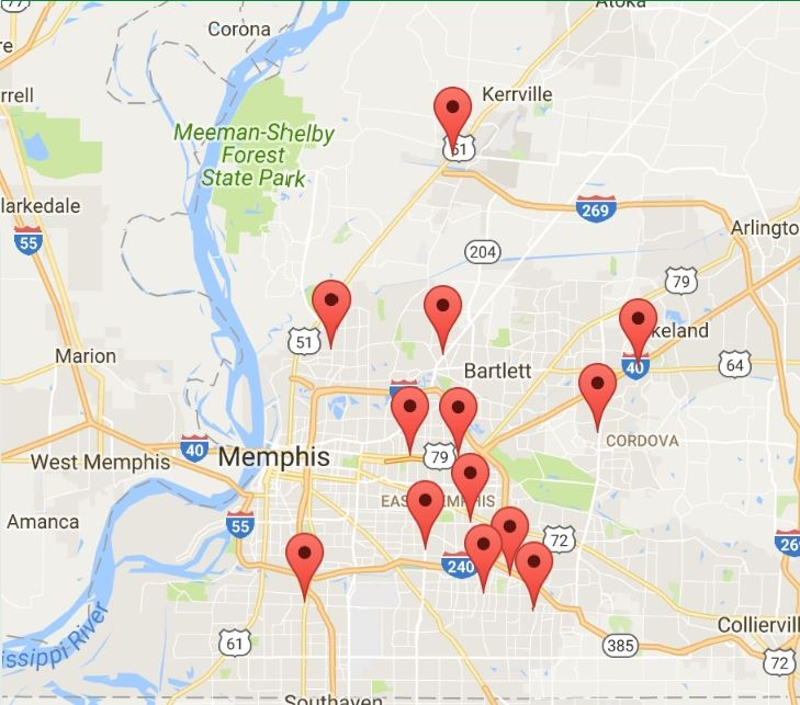 745 Cash Title and Payday Loans store locations - click for detailed map